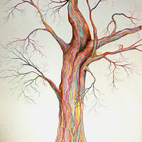 Drawing Electric Tree by David Neace