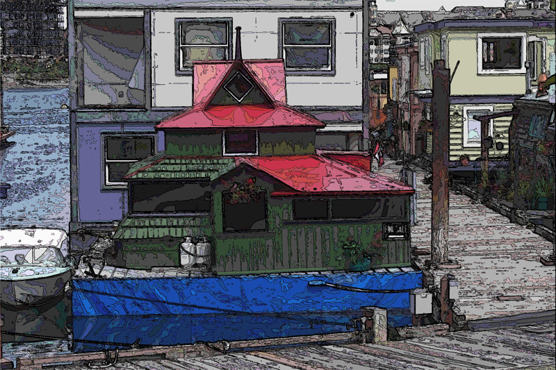 fisherman's wharf 3 by Bill Campbell