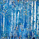 Acrylic painting Trellis   48x60 ________(click on the i for info) by Edward Bock