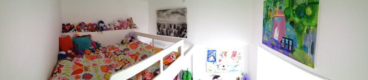 my friend did a fantastic job decorating her little girl's bedroom, honoured to be included! by Barb Martel