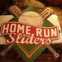 Painting Home Run Sliders by Elizabeth Mercer