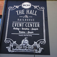Painting Railhouse Event Center by Elizabeth Mercer