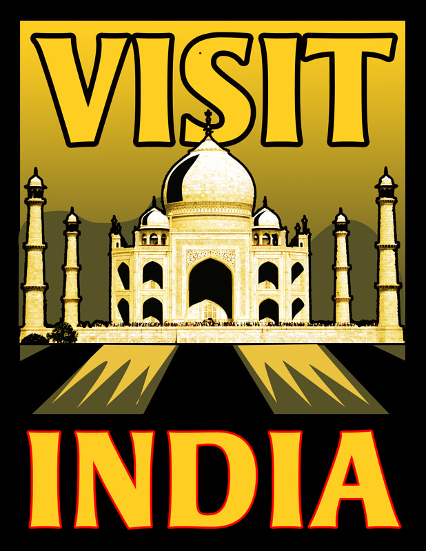 Visit India by Stephen Plunkett
