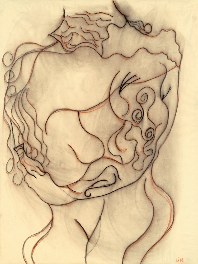 Drawing Embrace by Brian Rusconi