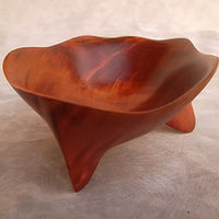 Drawing Pink Ivory Wood Vessel by Derek bencomo Bencomo