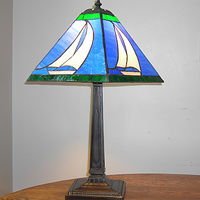 Sloop lamp by John Boyd
