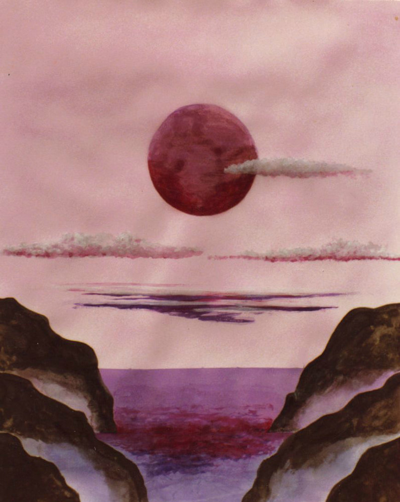 Print LOVERS MOON  by David Neace