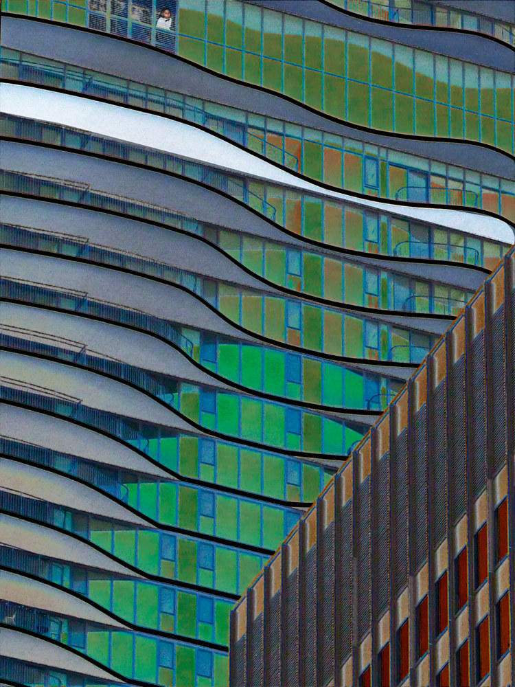 CHICAGO BALCONIES by Joeann Edmonds-Matthew