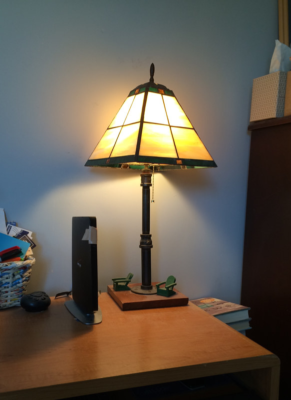 Susan's desk lamp by John Boyd