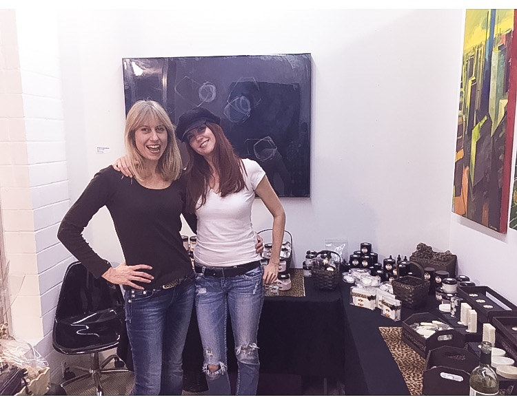 Dec 2015- Open Studio Show wDayna @ All About Me Product launch by Ann Marie  Vancas
