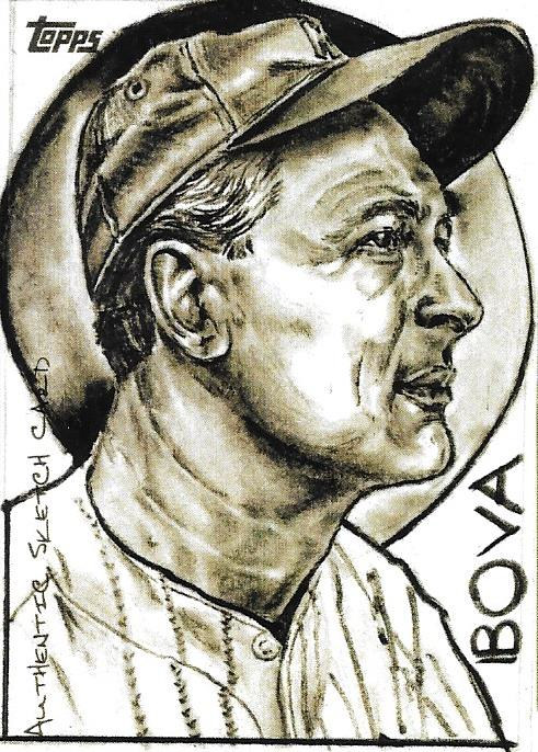 Drawing Larrupin Lou....Lou Gehrig the Iron Horse by Vincent Bova