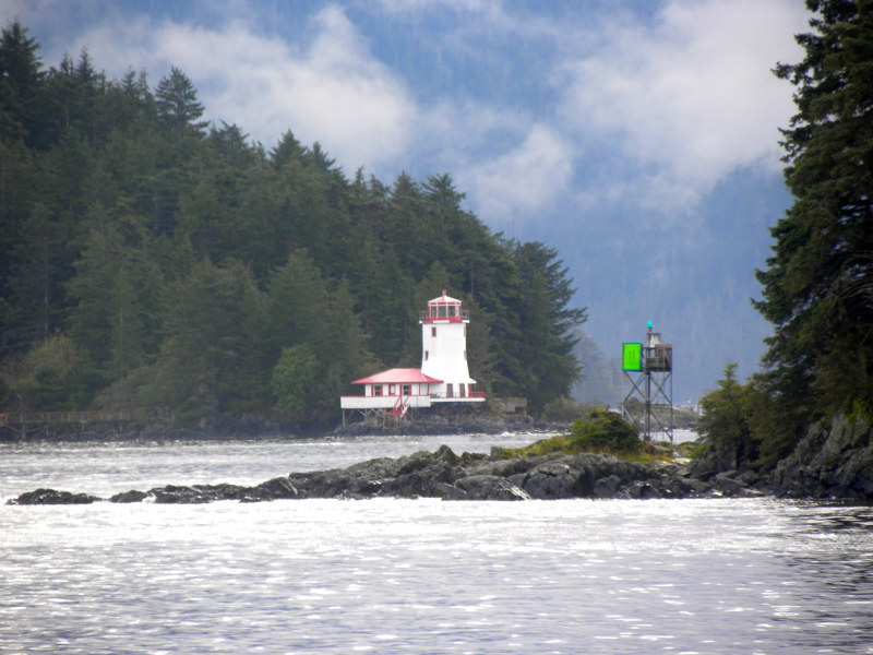 Sitka Lighthouse by Ann Williams