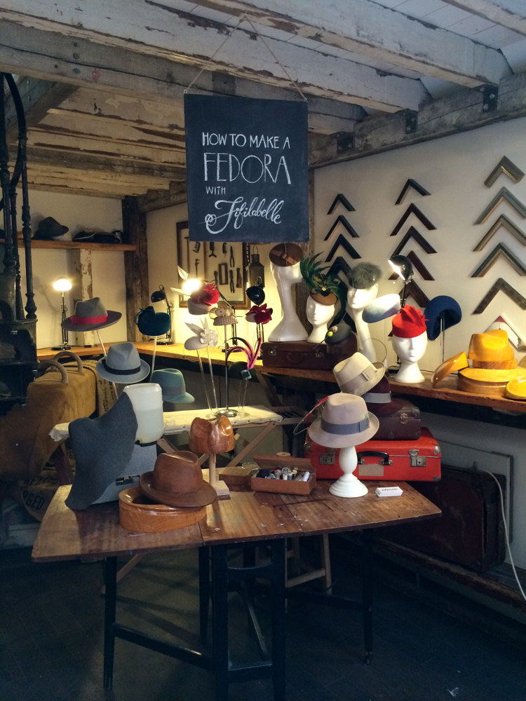 How to make a fedora or trilby workshop by Fiona Menzies