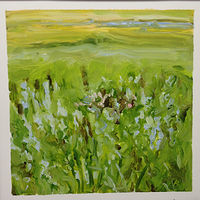 Oil painting Prairie Suite #7 by Edie Marshall