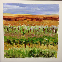 Oil painting Prairie Suite #9 by Edie Marshall