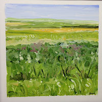 Oil painting Prairie Suite #10 by Edie Marshall