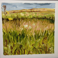 Oil painting Prairie Suite #11 by Edie Marshall