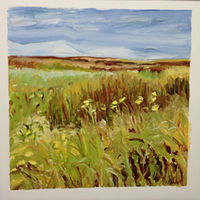 Oil painting Prairie Suite #12 by Edie Marshall