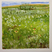 Oil painting Prairie Suite #13 by Edie Marshall