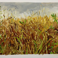 Oil painting Prairie Suite #14 by Edie Marshall