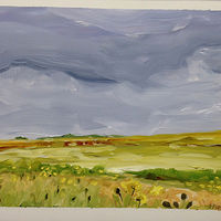 Oil painting Prairie Suite #15 by Edie Marshall