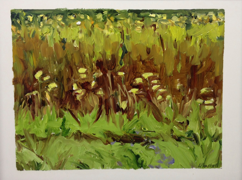 Oil painting Prairie Suite #16 by Edie Marshall