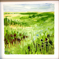 Oil painting Prairie Suite #17 by Edie Marshall