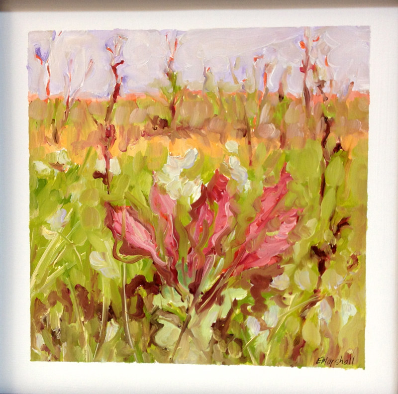 Oil painting Forage #1 by Edie Marshall
