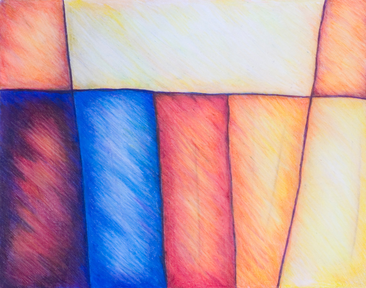 Watercolor Color Block by Danielle Scott