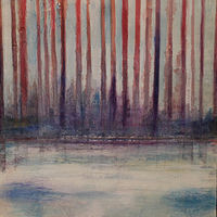 Mixed-media artwork First Light by Steve Latimer
