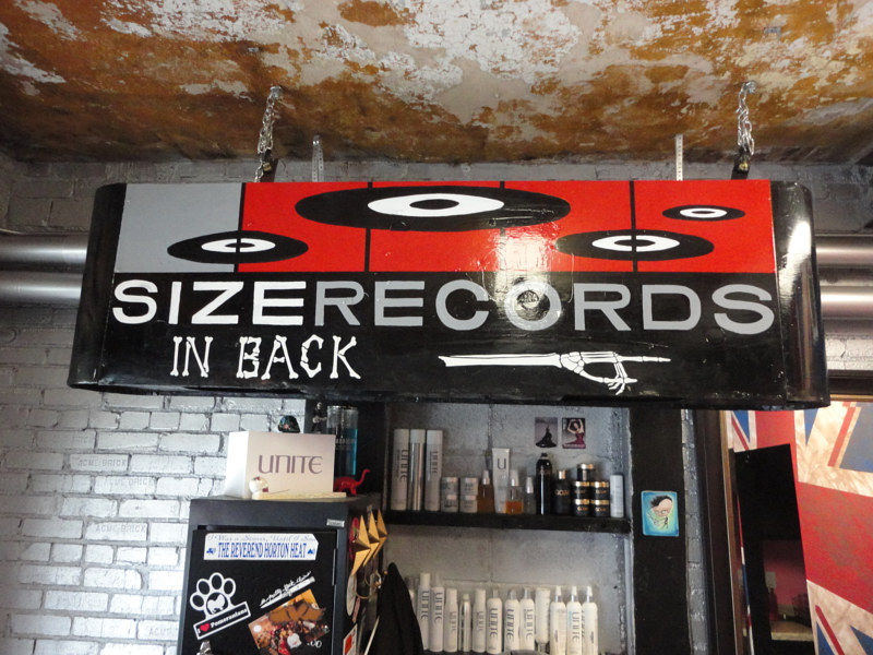 Painting Size Records by Elizabeth Mercer