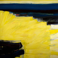 Acrylic painting Vital Gesture #17  by David Tycho