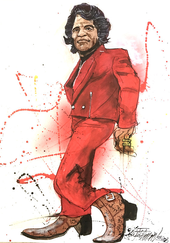 jamesbrown by Joey Feldman