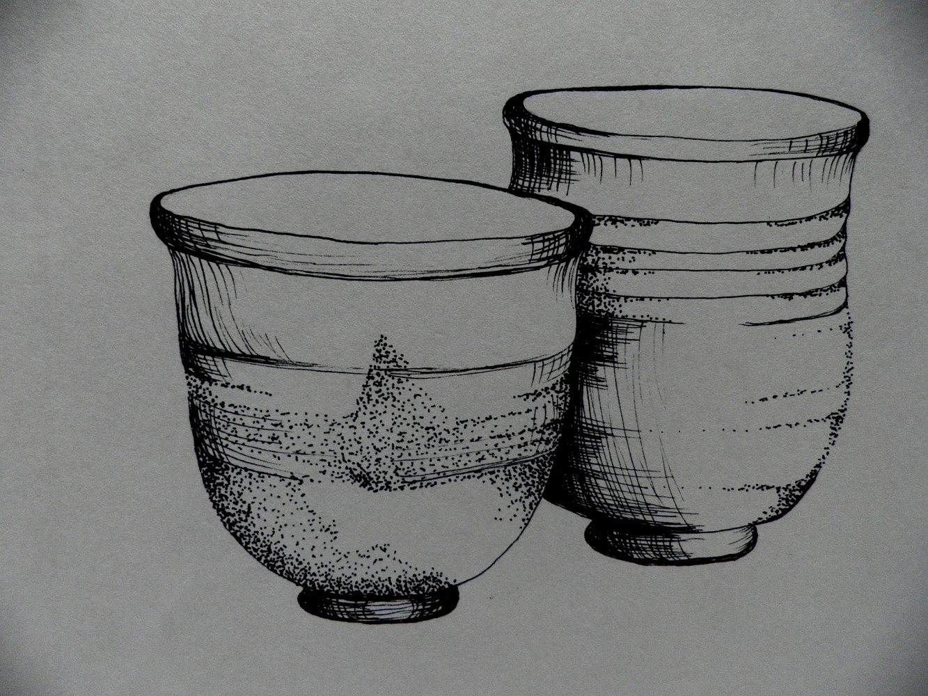 Drawing Ancient Pottery by Jayne Crawford