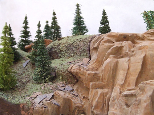 detail of original plaster model, 5' long by Forest (museumrock.com) Boone