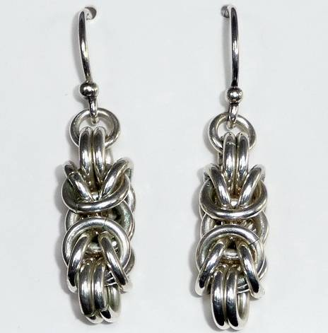 Byzantine Earrings by Vicki Allesia
