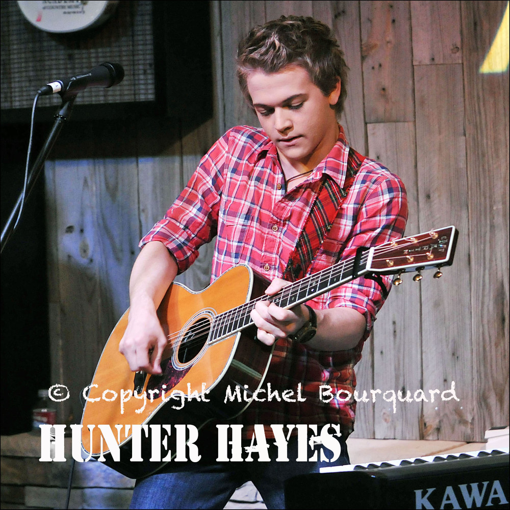 011-Hunter Hayes by Michel Bourquard