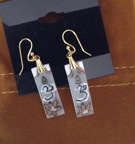 Ohm earrings by June Long-schuman