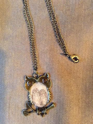 Owl pendant by June Long-schuman