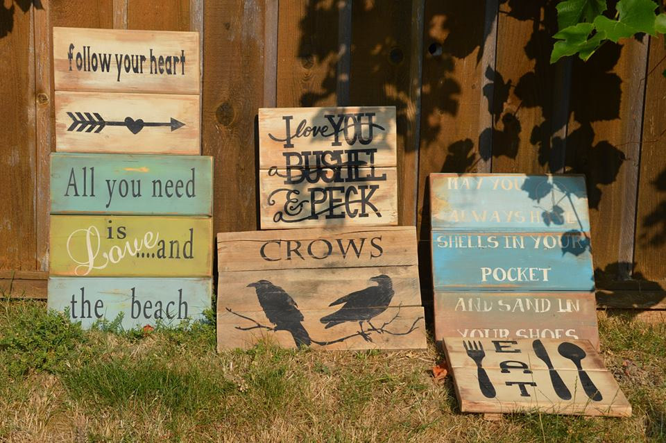 Garden Signs by Bev Robertson
