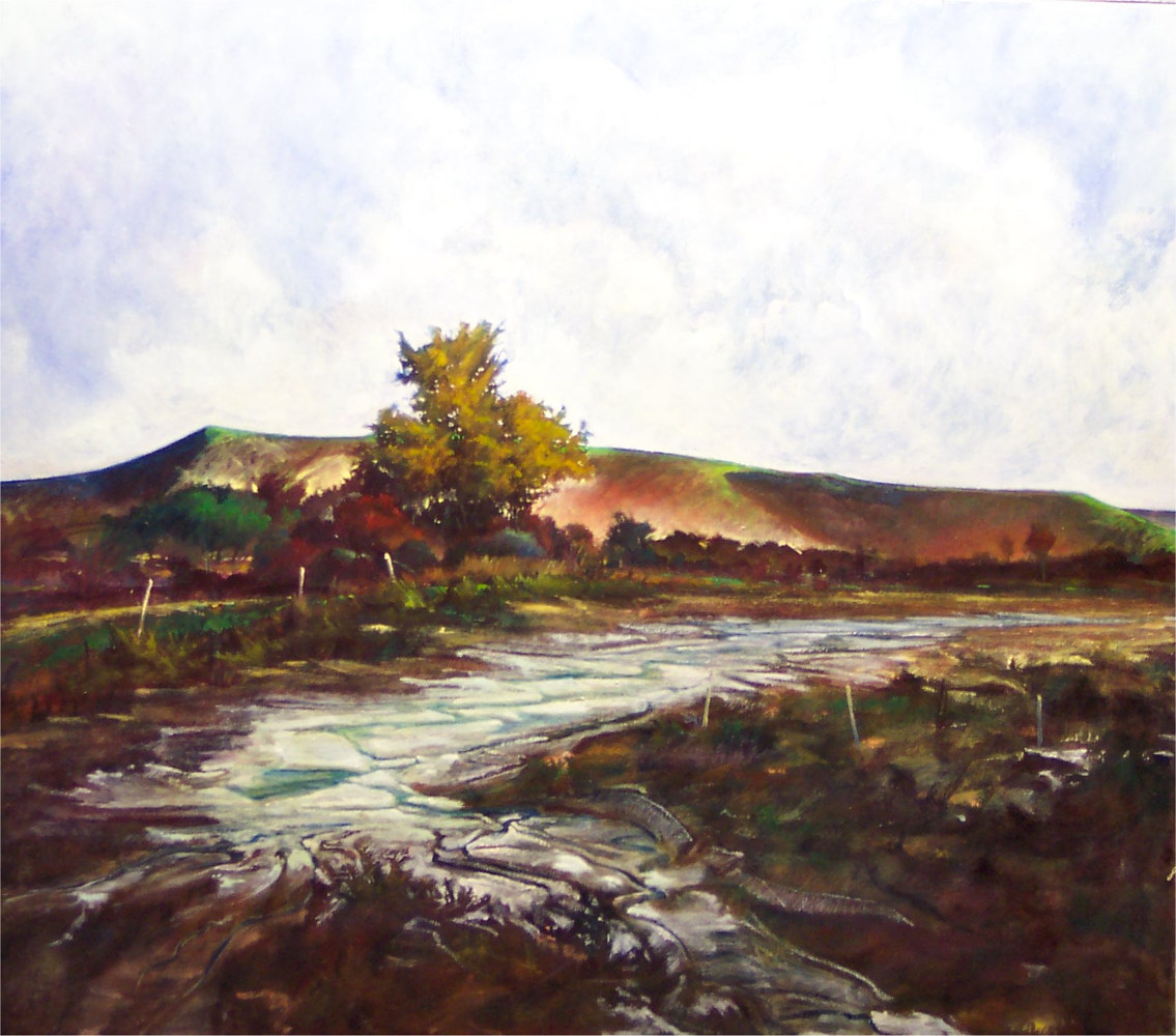 Dry Run to the Donahoe  Schwertner Texas by Gary Nowlin