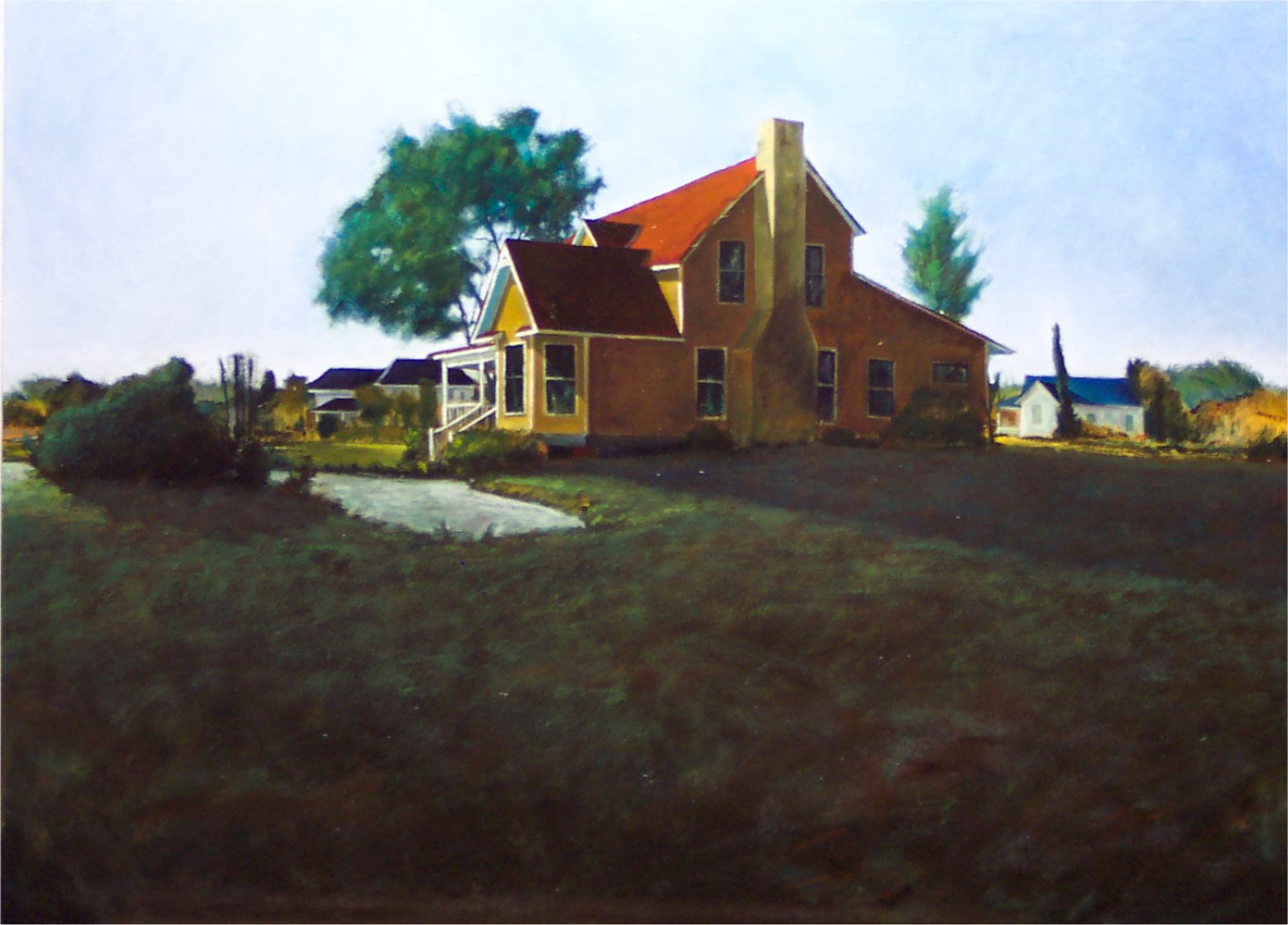 Docs House Georgetown Texas 30x40 by Gary Nowlin