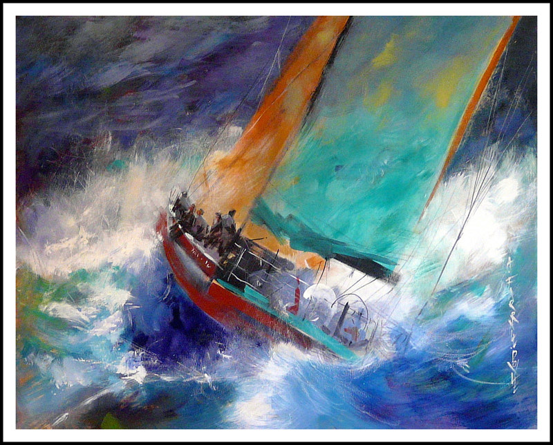 Acrylic painting Supreme Moments by Anne Farrall Doyle