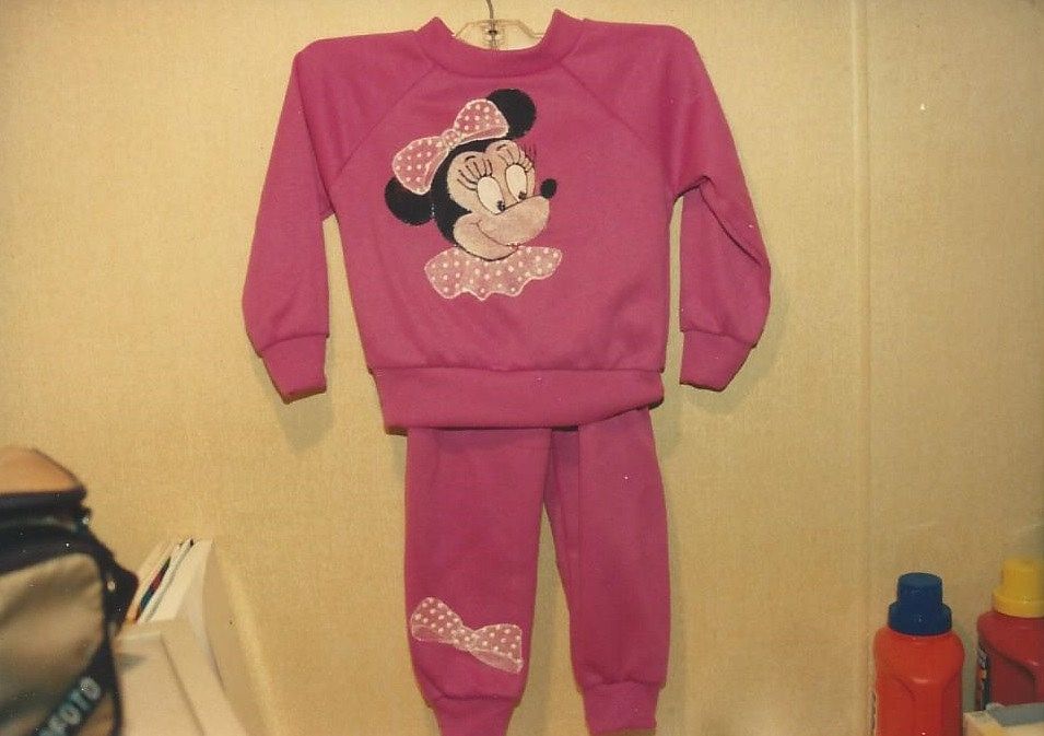 Painting MiniMouse Outfit 1992 by Jan Wirth