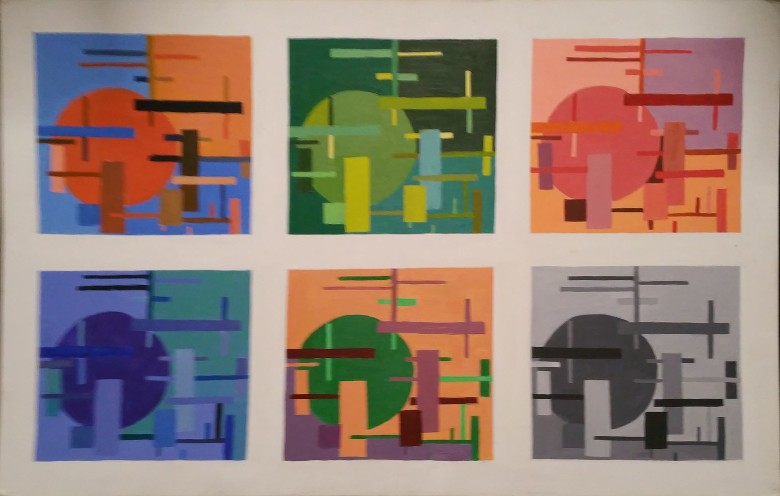 Painting Variation on a Theme by Jan Wirth