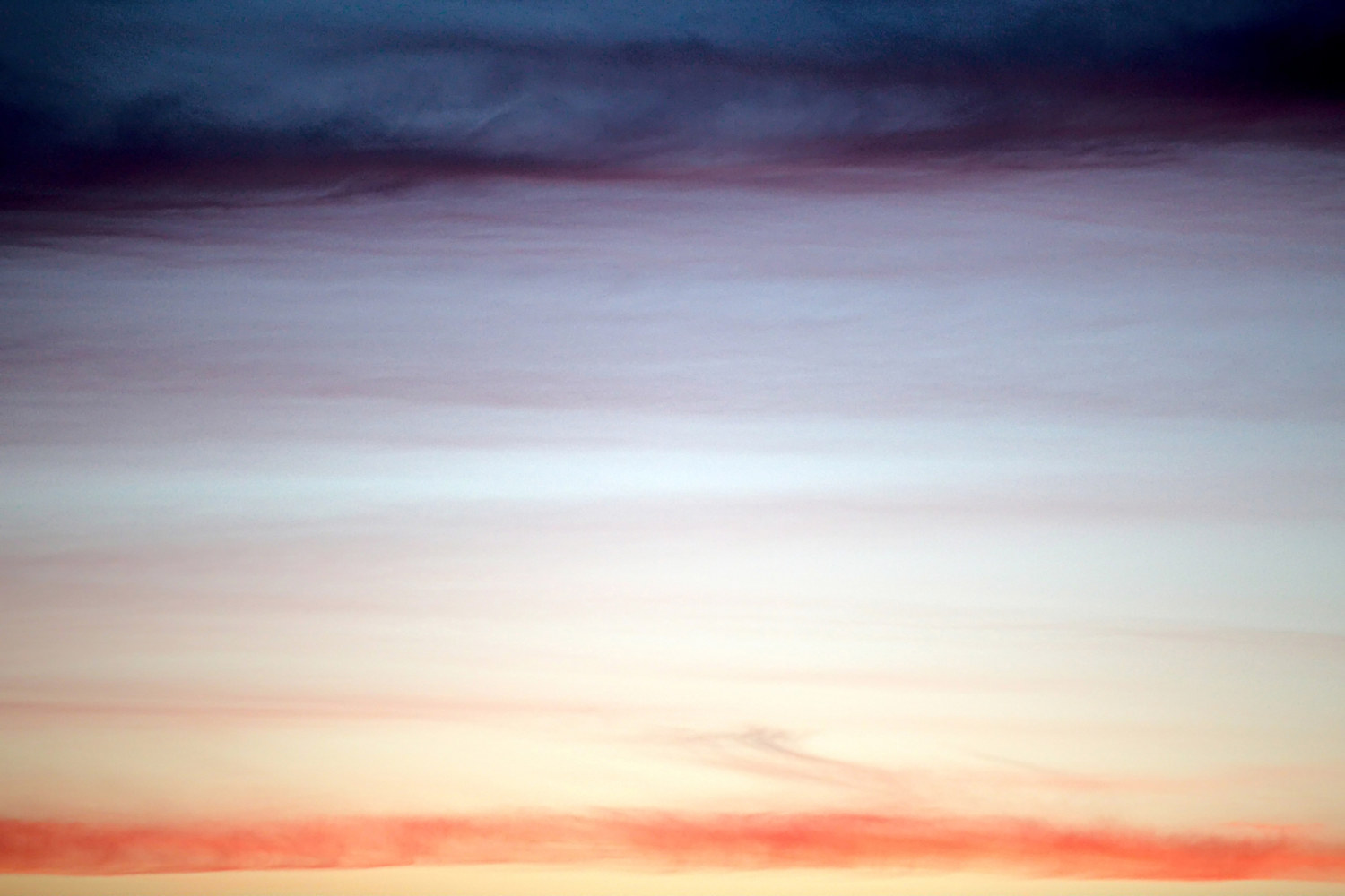 horizontal clouds by Marc Brisson