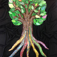 Painting PROJECT: The Learning Tree - Pathways To Education  by Pamela Schuller