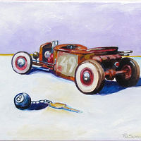 "Oil painting ""Ol 49"" by Paul Sershon"