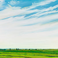 Oil painting Sackville Sky No. 2 by Michael McEwing