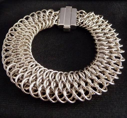 Dragon scale bracelet by Vicki Allesia